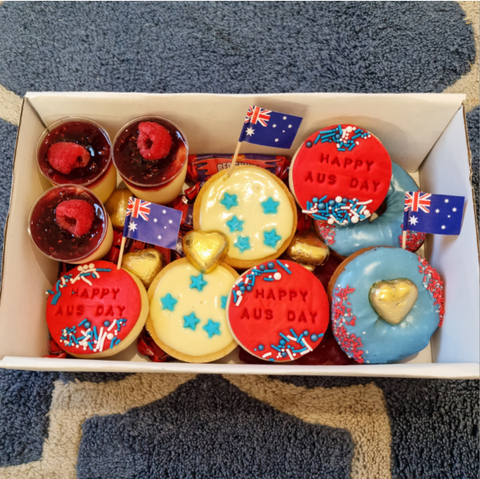 Dessert Box - Australia Day Theme