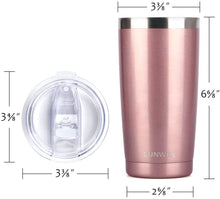 Load image into Gallery viewer, 20oz Hand Engraved Stainless Steel Tumbler with Lid
