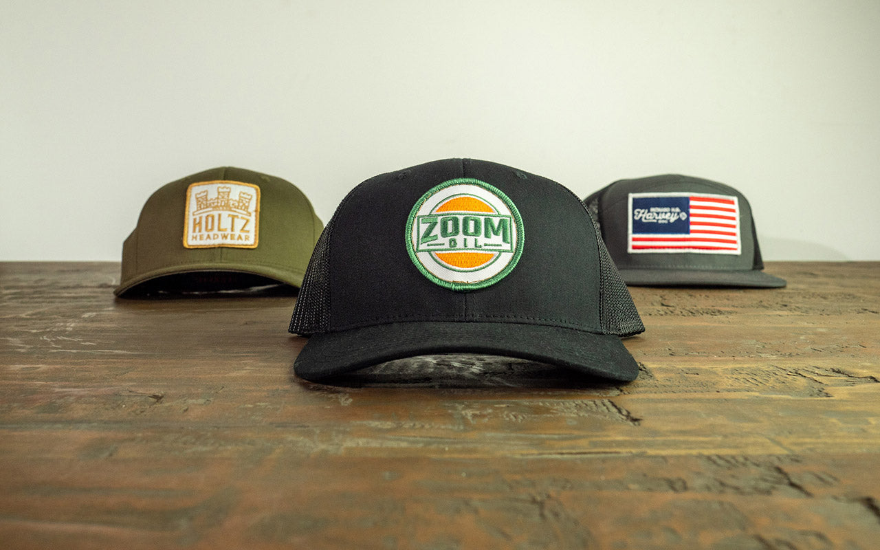 Custom Embroidered Patch Hats