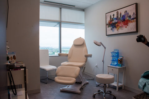 Facial Bed BA8194 from Cox Cosmetic Surgery in Frisco TX