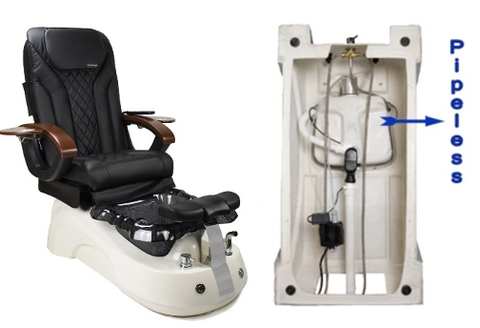 Pipe-Less Pedicure Chair