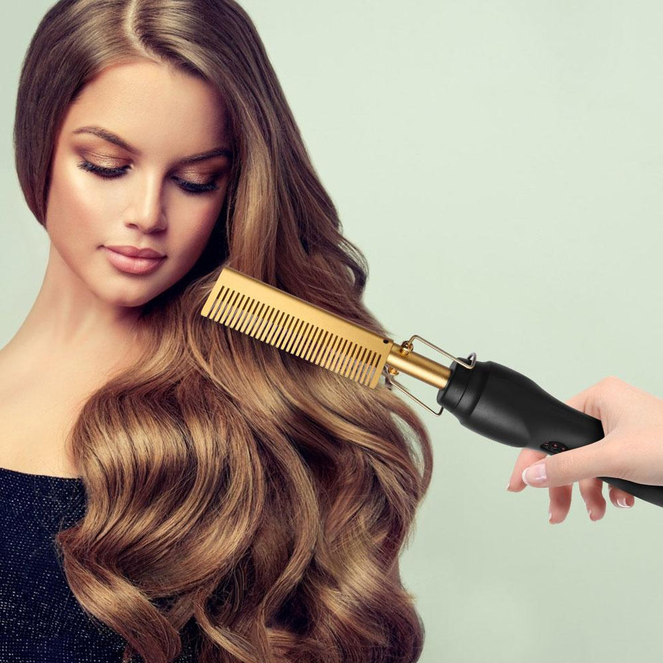 Luxuriant Hair™ - 2 in 1 hot comb iron