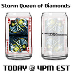 Storm Queen of Diamonds - X-Men Card Series Glass