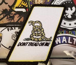 Don't Tread On Me Bar Patch