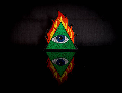 Fiery All Seeing Eye
