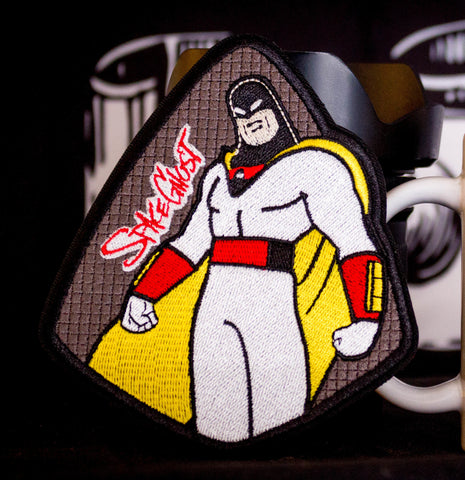 Space Ghost Shield Patch