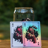 Juggernaut Ace of Spades - X-Men Card Series Glass