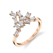 Baguette Knuckle Ring