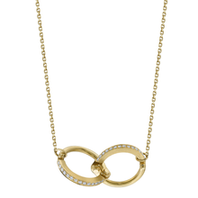 Diamond Handcuff Chain Necklace