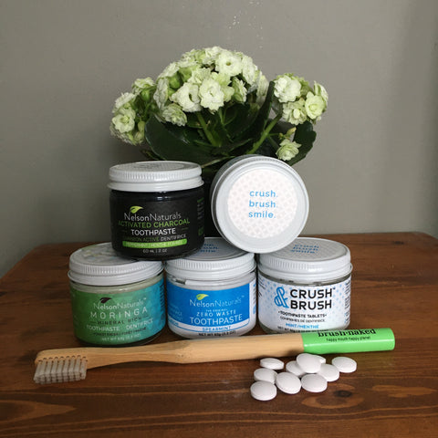 Nelson Naturals, toothpaste, low waste, refill