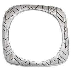 Square bracelet with pattern 77mm - 77 x 76mm