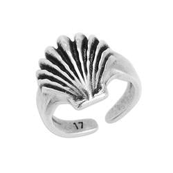 Ring clamshell 17mm - 21 x 17.8mm