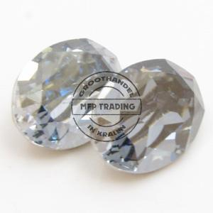 Swarovski 4120 Fancy 14x10mm Crystal Blue Shade