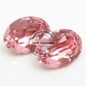 Swarovski 4120 Fancy 14x10mm Light Rose