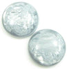 Polaris Cabochon 16,4mm Jais Ice Grey