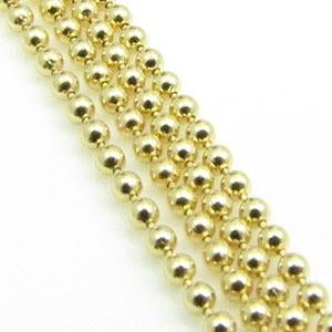 DQ Ball Chain 1,5mm Goud