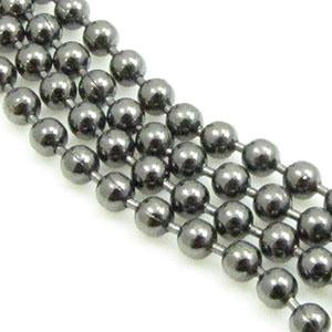 DQ Ball Chain 1,5mm Gun metal