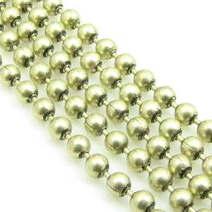 DQ Ball Chain 3,0mm Antiek Goud