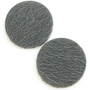 DQ Leren Cabochon 7mm Smokey Grey Taupe