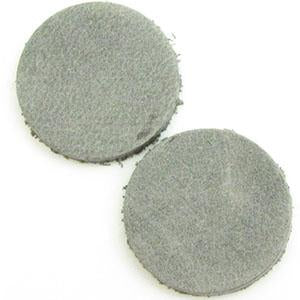 DQ Leren Cabochon 7mm Vintage Smoked Grey