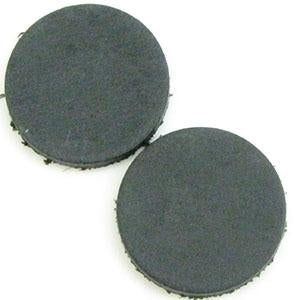 DQ Leren Cabochon 7mm Vintage Dark Grey