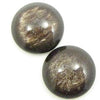 Polaris Cabochon 7mm Jais Brons