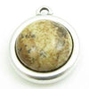 Cabochon Picture Jasper 12mm