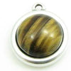 Cabochon Tiger Eye 12mm