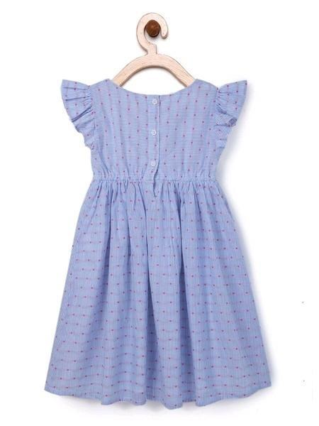 Girls Cotton Printed Frock