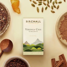 Load image into Gallery viewer, Virunga Chai 15 Plant-Based Prism Tea Bags