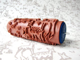 Woodland Hush Patterned Paint Roller - 3D