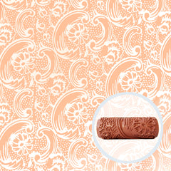 Bloom Tide Patterned Paint Roller - Front