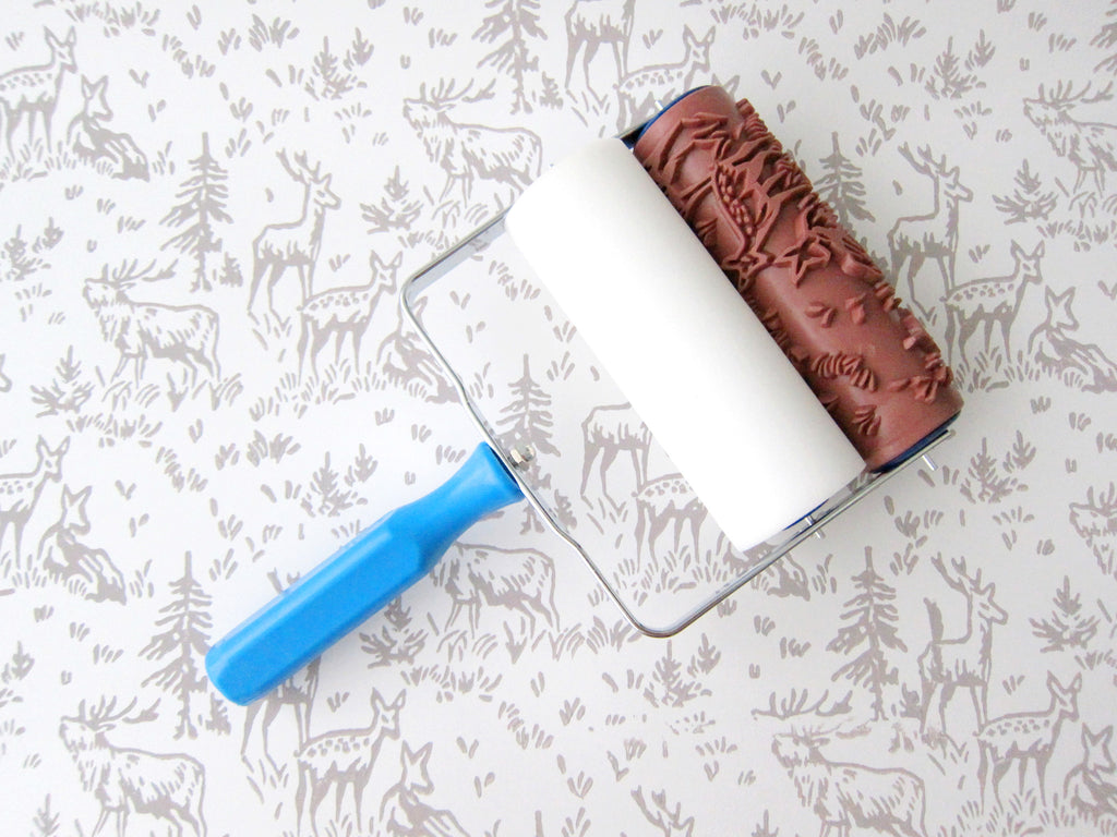 Where Can I Buy Patterned Paint Rollers Custom Decorating