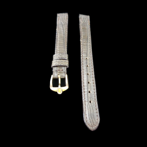 Omega buckle and new lizard strap for womens watch