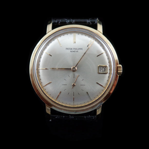 Patek Philippe 3445 in 18K yellow gold with caliber 27-460 - Serviced - Full set