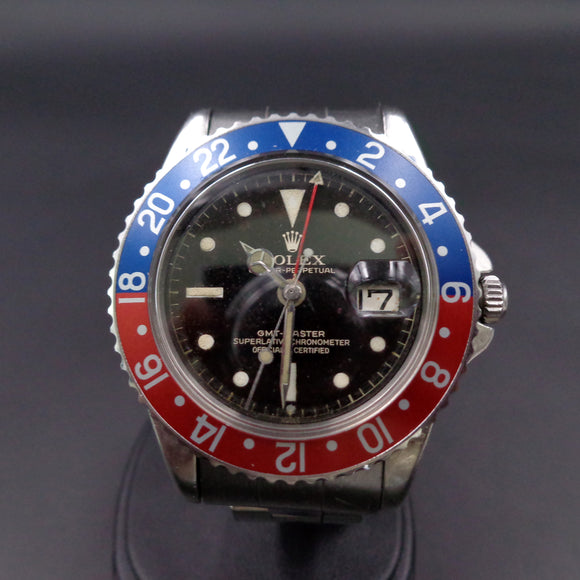 Rolex 1675 GMT Master with Tiger gilt dial from 1961