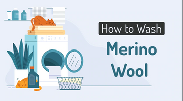 [Infographic] How to Effectively Wash Merino Wool