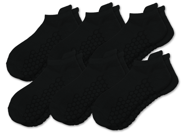 Combed Cotton HexaShock Padded Ankle Socks
