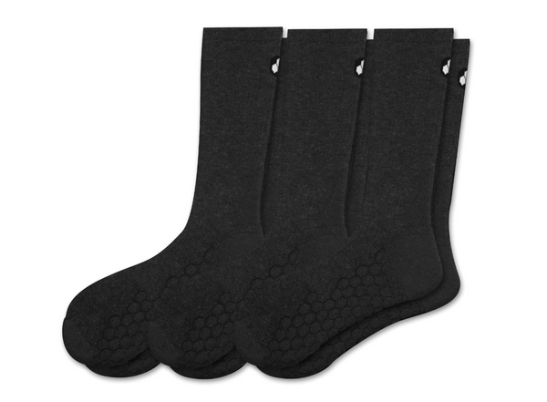 Merino Wool HexaShock Padded Crew Socks