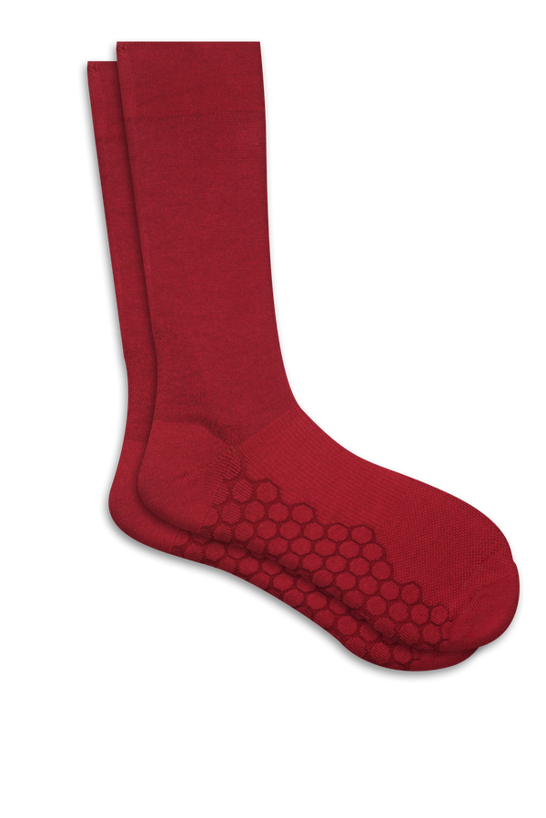Combed Cotton HexaShock Padded Crew Socks