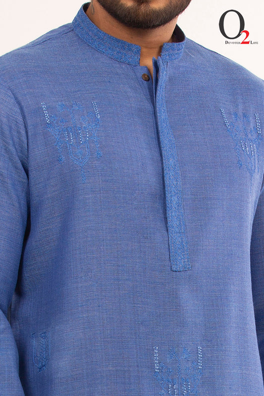 Blue PA Long Panjabi