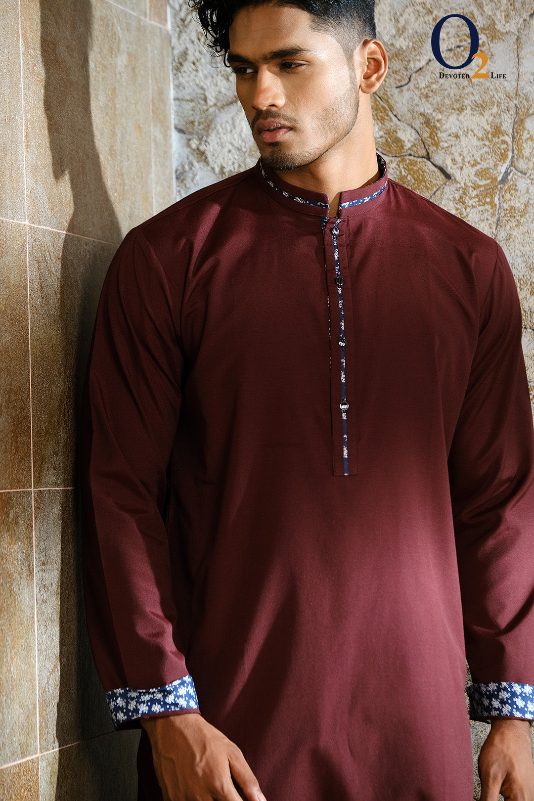 Coffee Slim Fit Panjabi