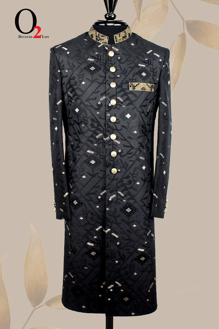 Black Gold SHERWANI