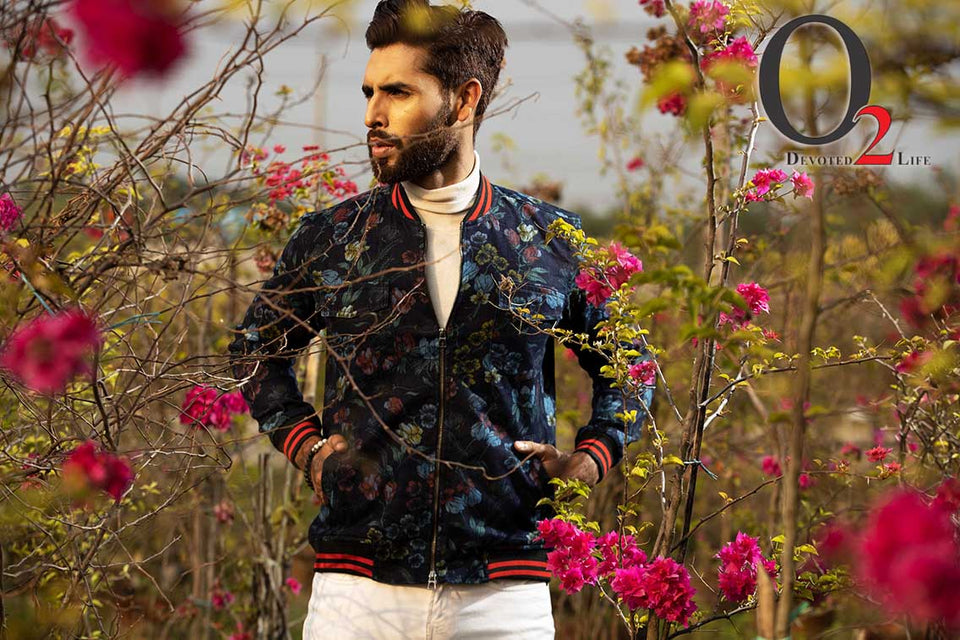 Men's Gorgeous Multi Color Casual Bomber Jacket