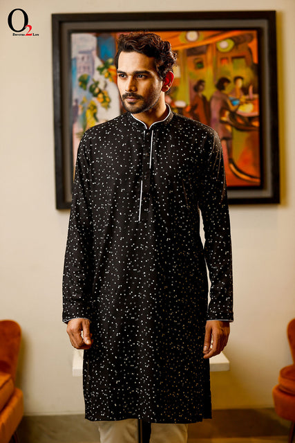 Men Slim Fit Panjabi
