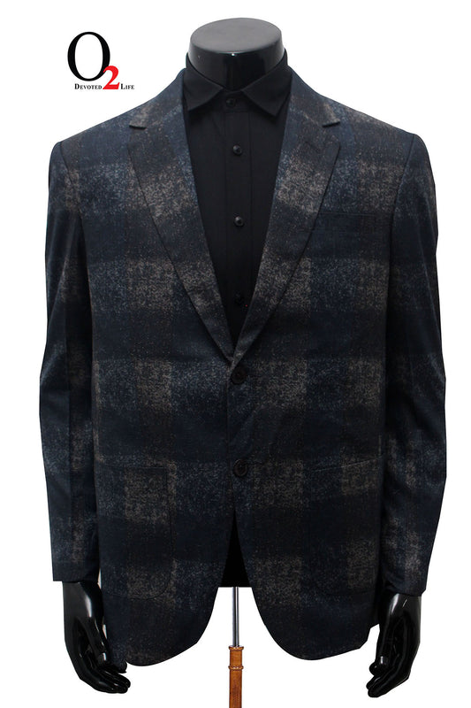 Men's Ash Check Blazer