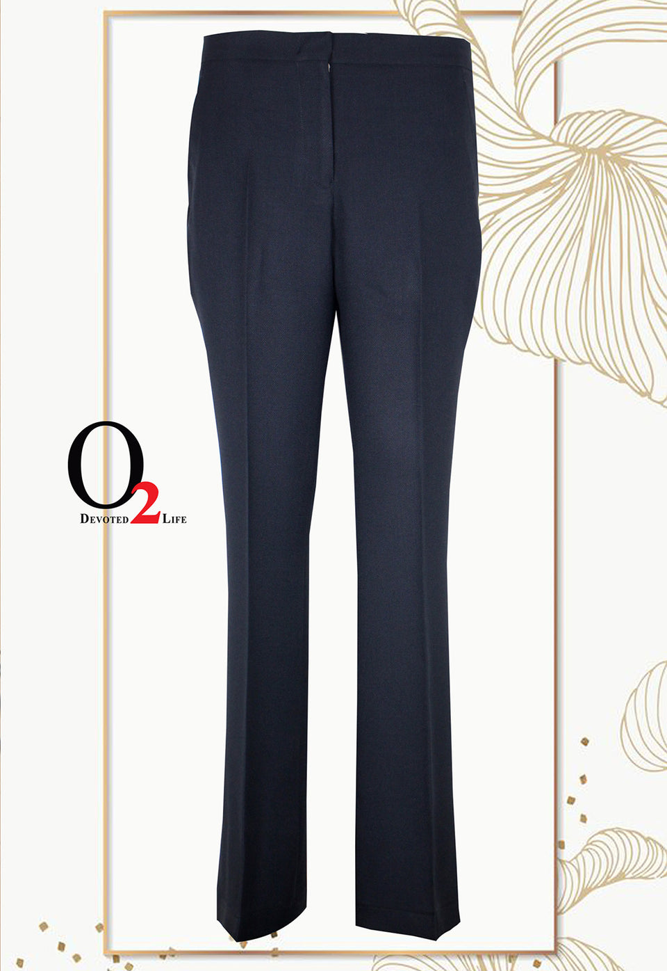 DARK NAVY Boot Leg Pant