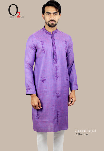EMBRO PURPLE LONG PANJABI
