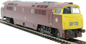 Dapol 4D-003-017 Class 52 Western Gladiator BR Maroon Full Yellow End D1016