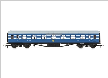 Hornby R4964 OO Stanier Period III 65' RFO D1902 7507 in LMS Coronation Scot blue
